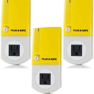 3 Pack PS8 Alarm Home System Motion Sensor Detects Inaudible Sound Pressure Waves Home