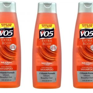 Alberto Vo5 Extra Body Volumizing Shampoo, 15 Ounce (Pack of 3)