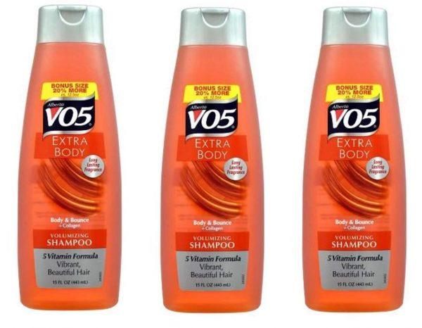 Alberto Vo5 Extra Body Volumizing Shampoo, 15 Ounce (Pack of 3)